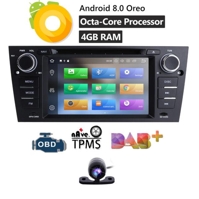 For BMW E90-E93 GA9165A Android 8 0 4GB RAM Radio Car DVD GPS Player Stereo  BT W