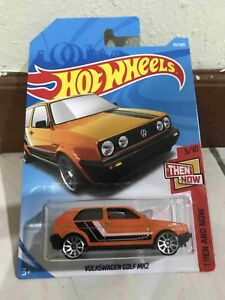 Hot-wheels-Hotwheels-Volkswagen-Golf-MK2-NEW