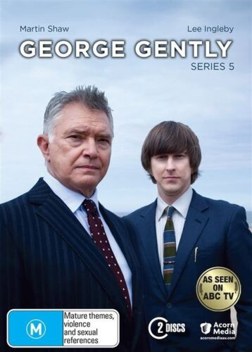 1 of 1 - George Gently : Series 5 (DVD, 2015, 2-Disc Set)-REGION 4-Brand new-Free postage