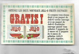 VINTAGE-JELL-O-COUPON-OF-GENERAL-FOOD-CO-IN-FRENCH
