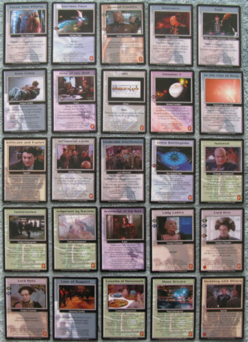 Babylon 5 CCG Premier Uncommon Card Selection Part 2//4