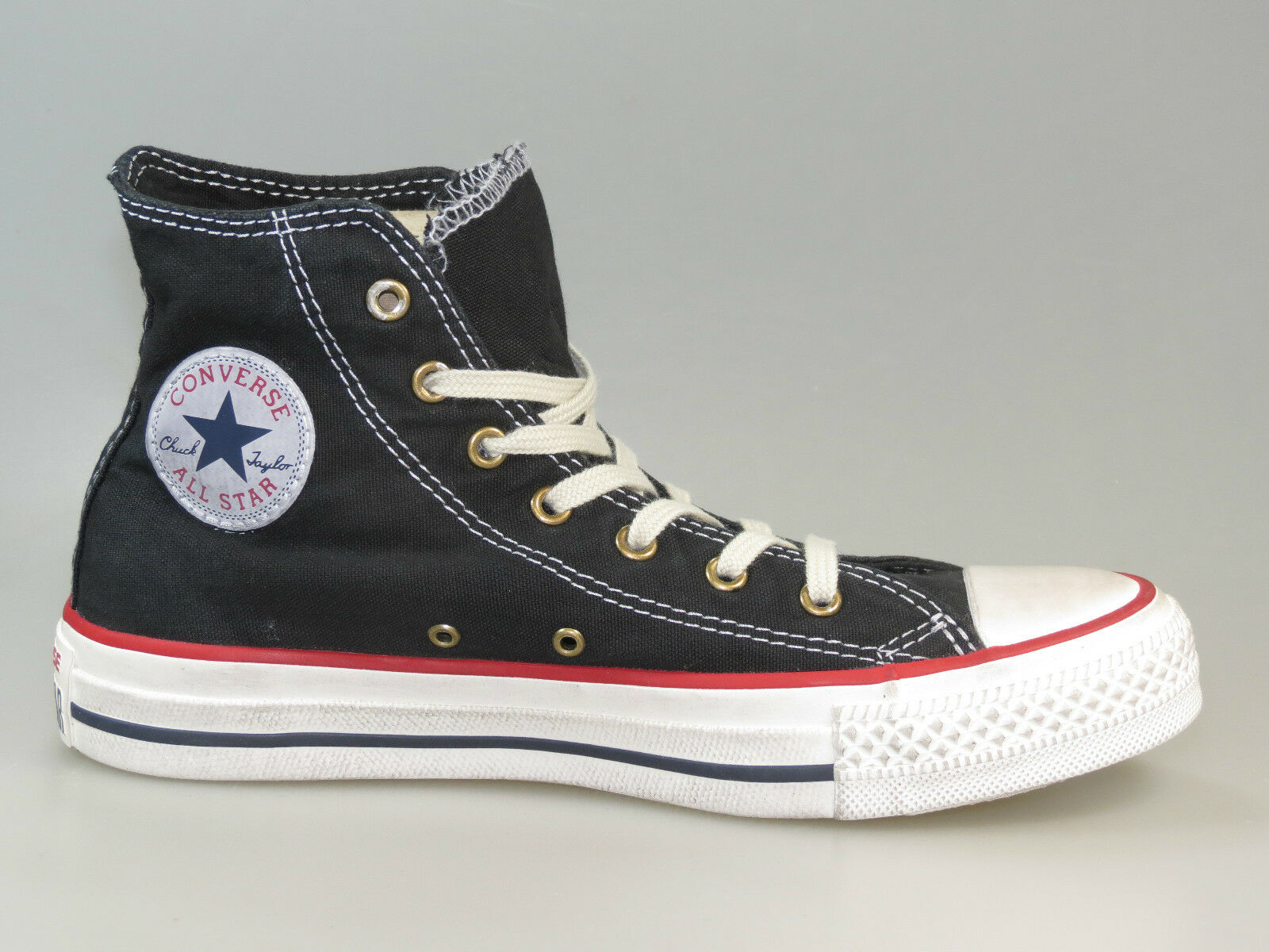 Zapatos promocionales para hombres y mujeres Converse Chucks CT HI BLACK AllStar 139907C +Neu+