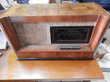 Antica Radio a valvole Philips Milano MOD. 744 Seconda Guerra Mondiale Fascista