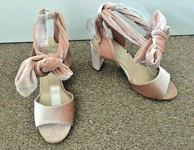 new look tie up heels