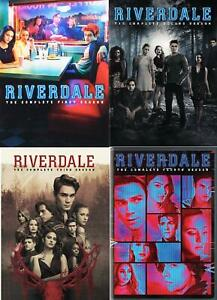 Riverdale Complete TV Series Season 1 2 3 4 (1-4) NEW DVD Set Collection