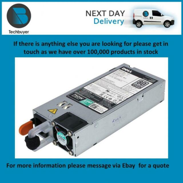 Power Supply 1C8RF KNHJV 450-AEES New Bulk Dell TPJ2X 750W 80