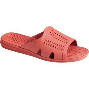 31788fd6 Image is loading Bob-Barker-All-Purpose-PVC-Sandals-Orange-Medium-