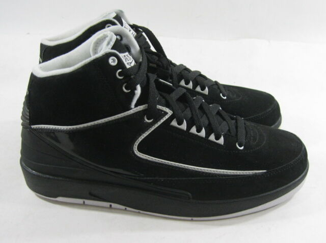 huge selection of a57c7 0893e ... official store nike air jordan 2 retro qf 395709 001 year2010 black  white size f850a 8bdaa