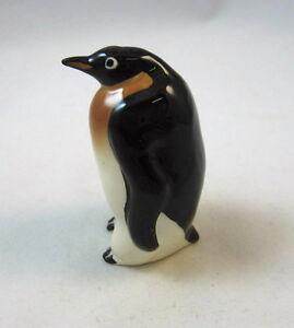 Hagen Renaker miniature made in America bird Emperor Penguin