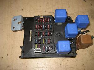infiniti g20 fuse box location 00 infiniti g20 under hood fuse relay box | ebay