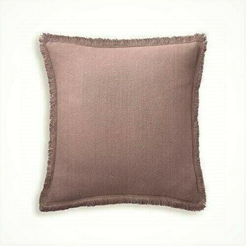 Ralph Lauren Notting Hill Noland Euro Pillow Sham 100 Linen Purple