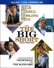 The Big Short (Blu-ray) - Ex Library - **DISC ONLY**
