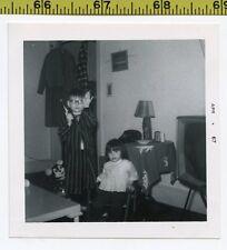 Vintage 1967 photo / Evil Mouse Doll Says : C'Mon Joey - 1 Bullet & No More Peas
