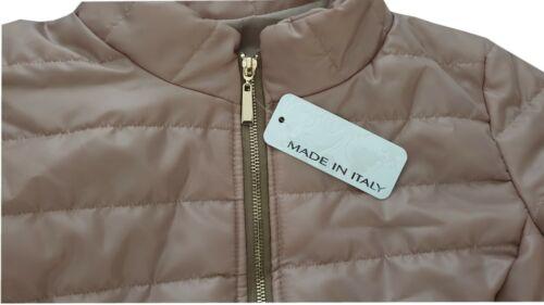 Damen Lightweight Daunenjacke leicht schimmernde Nylon Jacke Übergangsjacke NEU