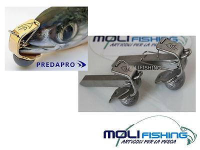Predapro Stabilizzatore Pesce Esca Morto M. 2- Nuovo Modello Acciaio Inox-traina Ampie Varietà
