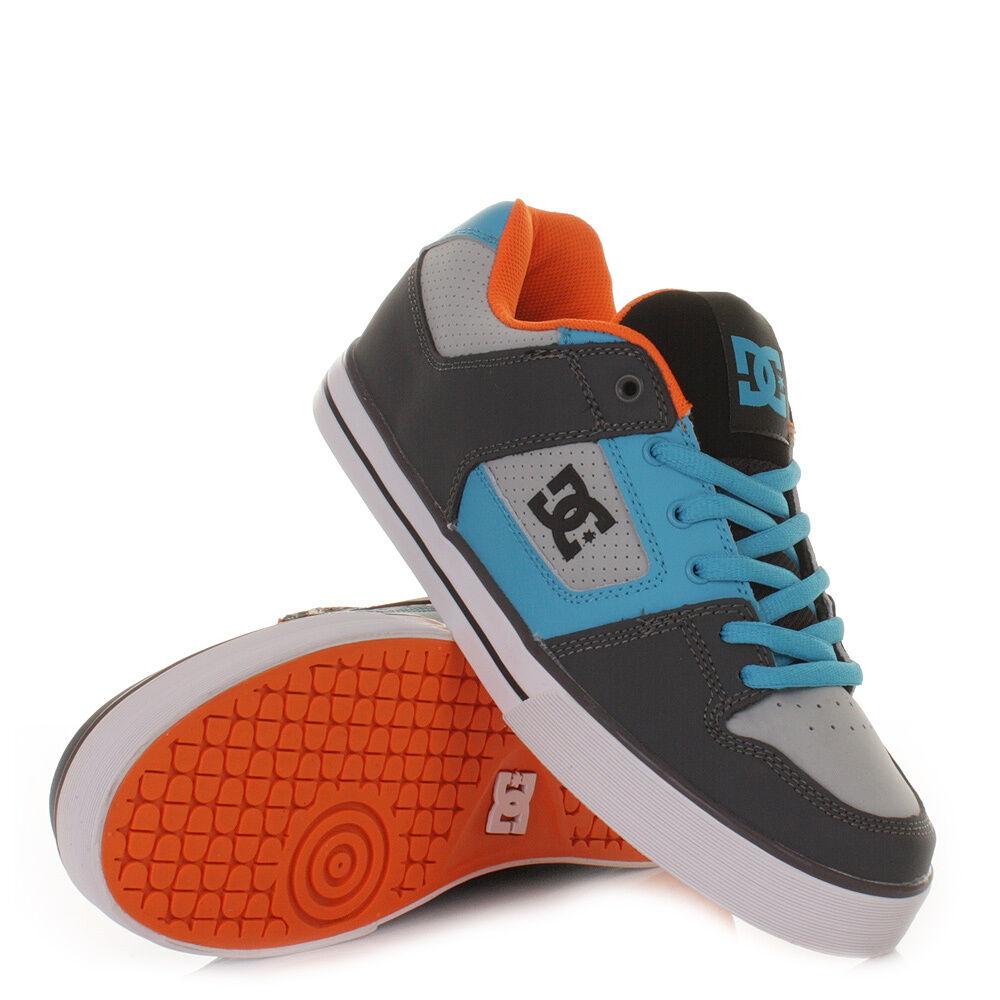 Scarpe uomo casual Zapatillas Dc Shoes Pure Slim Grey / Vivid Blue nuove