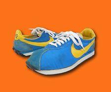 Vintage 70's NIKE Waffle Trainer Blue Original Survivors Cortez Sneakers Shoes