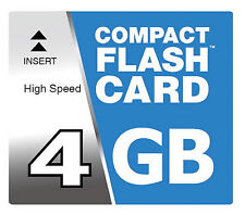 4 GB Compact Flash Karte CF für Canon IXUS 430 500