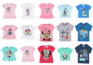 Disney-Characters-Baby-Newborn-Infant-Boys-Girls-Top-T-shirt-0-24-months