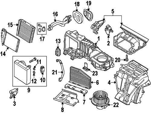 Buy Volkswagen 3c0898380 Genuine Oem Heater Core Gasket Set Online