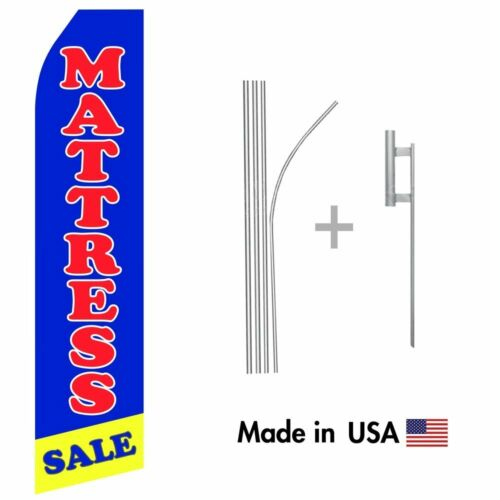 Mattress Sale Econo Flag 16ft Advertising Swooper Flag Kit with Hardware