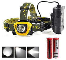 5 W Ultra Bright LED Headlamp Flashlight Motion Sensor Head Light