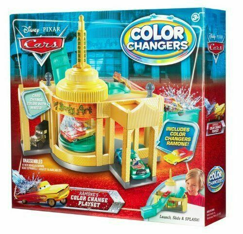 Mattel T 1660 Cars Ramones House Of Body Art Color Shifters Playset For Sale Online Ebay
