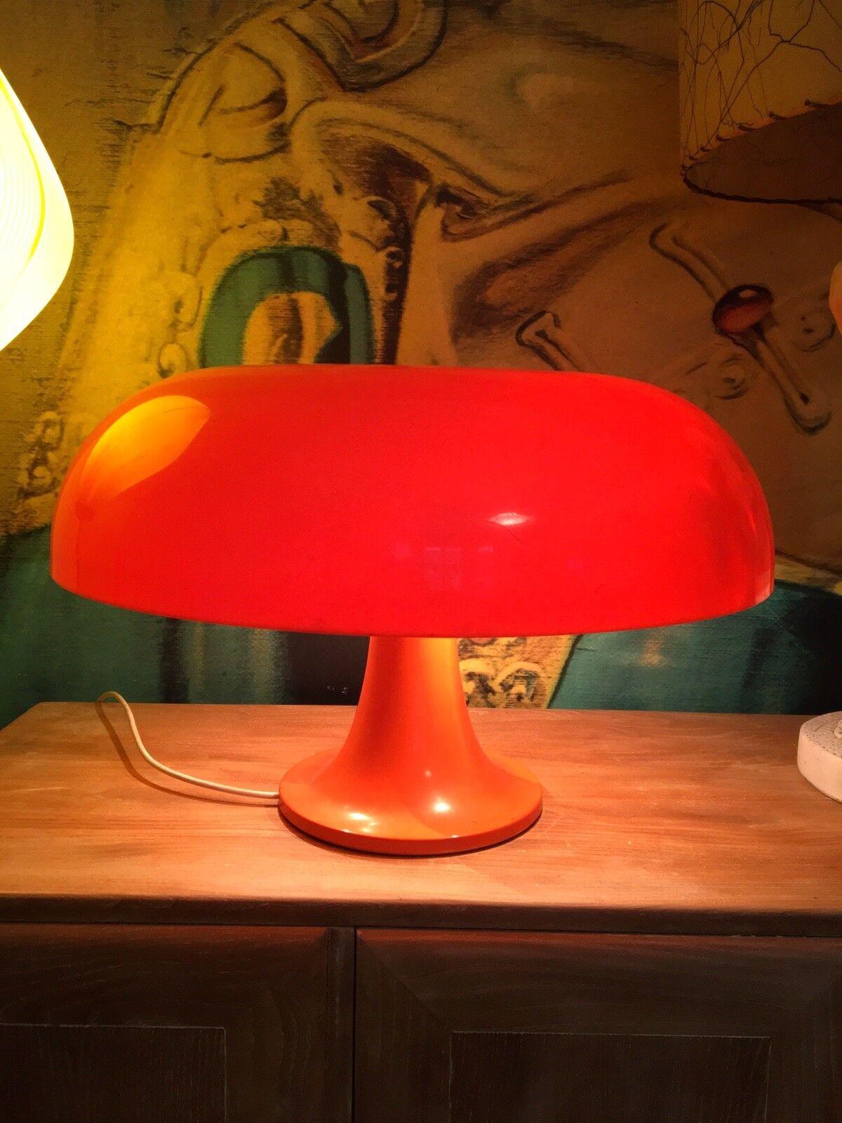 Artemide-Nessino-GIANCARLO MATTIOLI-Lampada da tavolo ORIGINALE