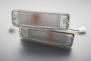88-97-TOYOTA-HILUX-CLEAR-BUMPER-BAR-INDICATOR-TURN-SIGNAL-LIGHT-LN85-LN100-LN106