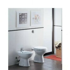 Sedile Wc Ideal Standard Serie Tonda.Ideal Standard Kit Vaso E Bidet A Pavimento Serie Tonda Con Sedile Acquisti Online Su Ebay