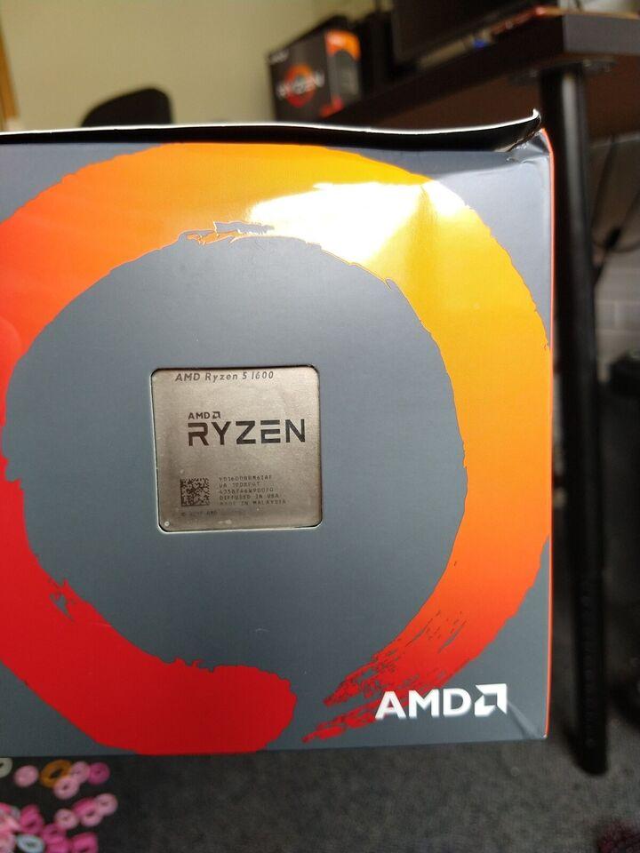 Processor, AMD, Ryzen 5 1600 AF