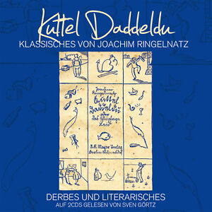 CD-Kuttel-Daddeldu-Ringelnatz-Klassiker-2CDs-gelesen-von-Sven-Goertz
