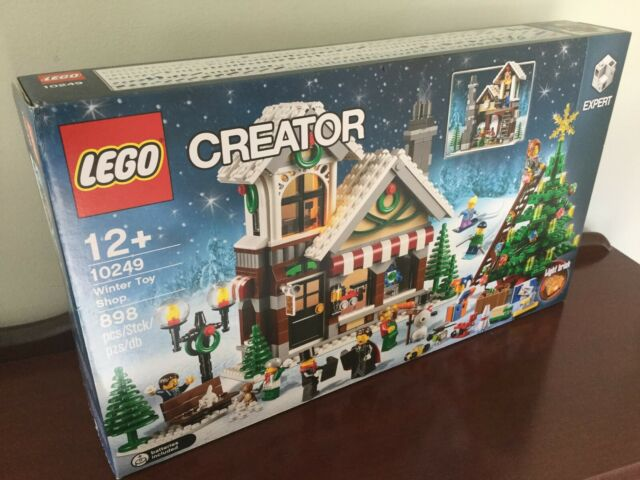 LEGO Winter Toy Shop #10249 NEW IN FACTORY SEALED POLY BAGS NO BOX Free Postage!
