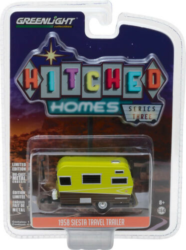 Black GREENLIGHT Homes Series 3-1959 Catolac DeVille White 1//64 34030 A
