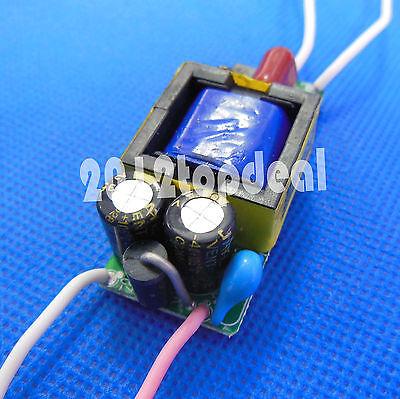 Driver Input 85-265V Output DC18-33V 600MA for 6-10X 3W High Power LED Light