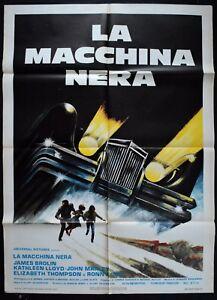 Manifesto 2fg La Macchina Nera The Car Elliot Silverstein Brolin Horror Auto Car Ebay