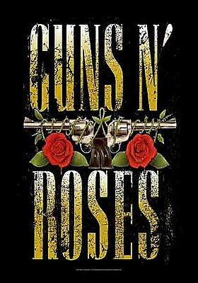 Flag 1100mm X 750mm Steady Guns N' Roses Logo Large Fabric Poster hr Fine Workmanship