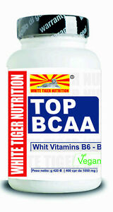 BCAA-Aminoacidi-Ramificati-100-compresse-Vitamine-B6-B1-Massa-Muscolare