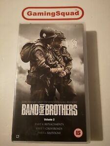 Band-of-Brothers-Vol-2-VHS-Video-Retro-Supplied-by-Gaming-Squad