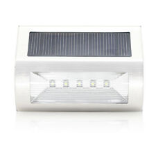 Quace Upgraded Outdoor Solar Power Light Garden Pathway Stairs Stylish Design