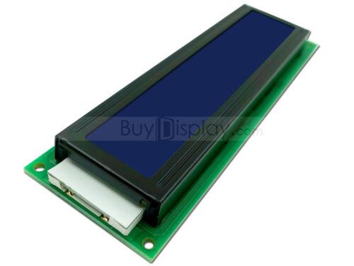 3.3V Blue 24x2 Character LCD Display Module w//Tutorial,HD44780 Controller,Bezel