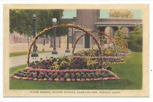 TORONTO-ONTARIO-Flowers-Garden-Western-Entrance-Exhibition-Place