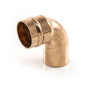 Details about NEW SOLDER RING copper plumbing pipe 28mm STREET ELBOW BEND  CORNER 90 degree