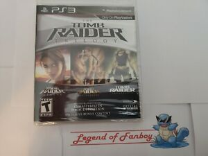 Tomb Raider Trilogy - ps3 * New * Legend Anniversary Underworld - PlayStation 3