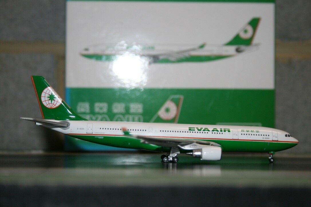 Phoenix 1 1 1 400 Eva Air Airbus A330-200 B-16301 (PH10329) Fundición Modelo de Avión bb14b3
