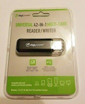 Digipower 42-In-1 Multi-Card Reader//Writer DP-MCR4 USB 2.0 NEW!!!