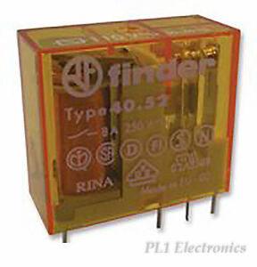 FINDER-40-52-8-110-0000-Relais-PCB-Dpco-110VAC