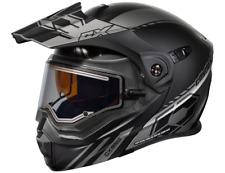 New CASTLE EXO-CX950 Snowmobile Helmet Electric Matte Black//Orange//Hi-Vis//Pink