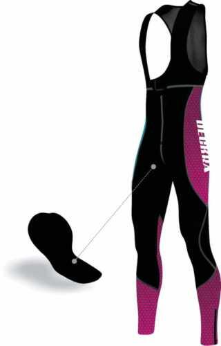 Deckra Women/'s Cycling Bib Tight+Jersey Long Sleeves Thermal Winter Bicycle Set