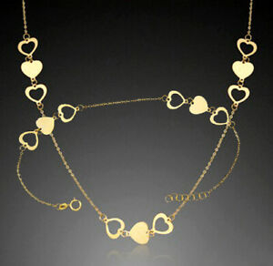 ECHT GOLD *** Feines Collier Kette 42-45  cm